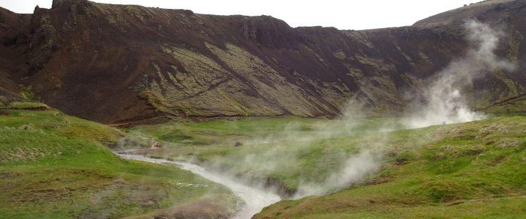 Island - Hveragerdi - wandern zwischen heißen Quellen