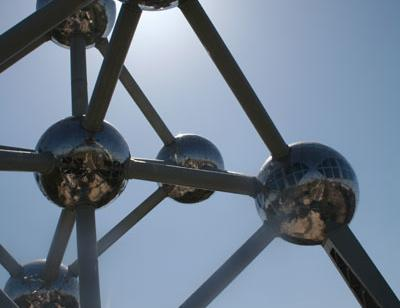 Reise in Belgien, Atomium Brüssel