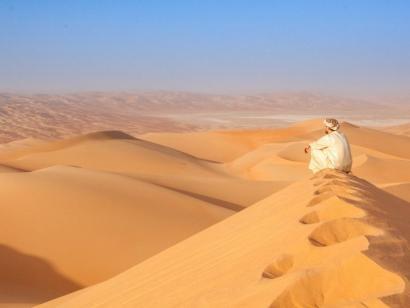 Reise in Oman, Arabische Wüste