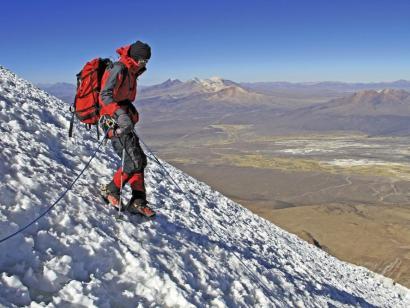 Reise in Bolivien, Sajama