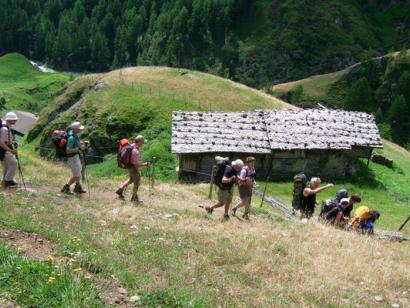 Reise in Deutschland, Alpenüberquerung von Oberstdorf nach Meran (Hüttenvariante)
