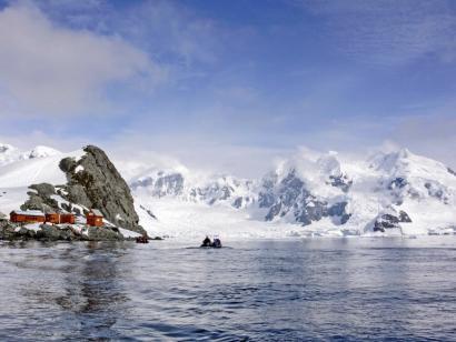 Reise in Antarktis, Die Plancius in der Antarktis