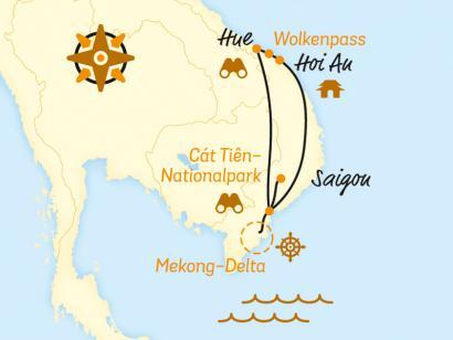 Reise in Kambodscha, Über den Wolkenpass ins Mekong-Delta (2020/2021)
