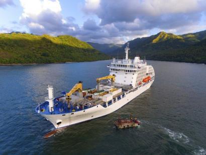 Aranui 5 – Mit dem Frachtschiff ans Ende der Welt Komfortable Kreuzfahrt durch die Inseln der Marquesas, das Tuamotu-Archipel und nach Bora Bora