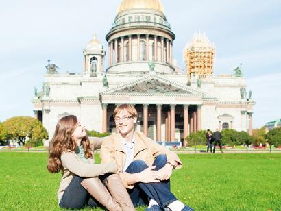 Reise in Russland, Isaaks-Kathedrale in  St. Petersburg