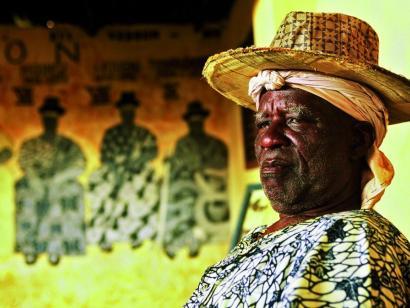 Reise in Benin, Festischpriester