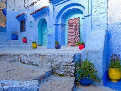 """Reise in Marokko, Chefchauen die """"blaue Stadt"""" Marokkos"""
