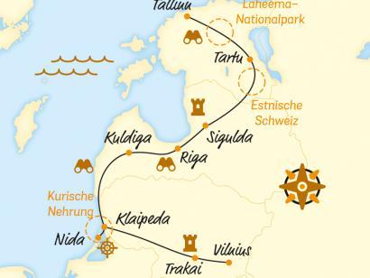 Reise in Estland, Auf den Spuren der legendären Bernsteinstraße (2020)