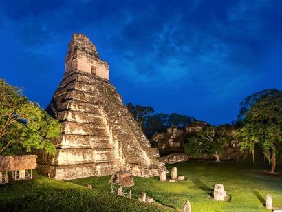 Reise in Guatemala, Tempel Gran Jaguar in Tikal (UNESCO)