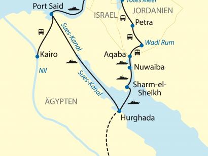 Reise in Ägypten, Auf der maritimen Seidenstraße zu den Perlen des Orients (2021)