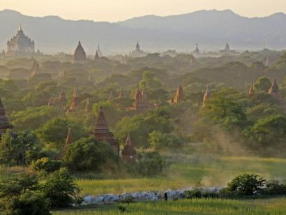 Reise in Myanmar, Sanctuary Ananda bei Mandalay