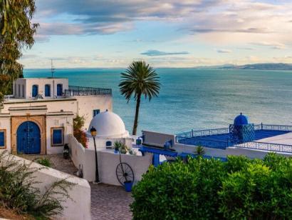 Reise in Tunesien, Sidi Bou Said