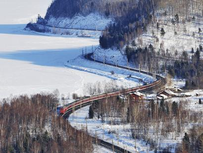 Reise in China, Russland - Transsib