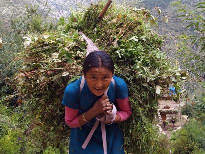 Reise in Nepal, Ausblick vom Pikey Peak