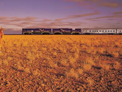 Reise in Australien, The Indian Pacific
