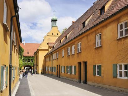Reise in Deutschland, Augsburg, Ulm & München: Städtereise