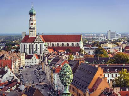 Reise in Deutschland, Augsburg & Ulm: Städtereise