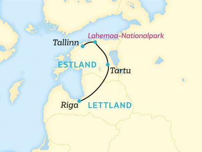 Reise in Estland, Baltikum: Einmal im Leben im besten Netz (2020/2021)