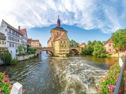 Reise in Deutschland, Bamberg & Coburg: Städtereise