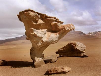 Reise in Bolivien, Arbol de Piedra-Salar de Uyuni