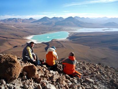 Reise in Bolivien, Herrlicher Ausblick vom Licancabur