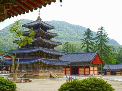 Reise in Südkorea, Alte Stadtmauer von Seoul