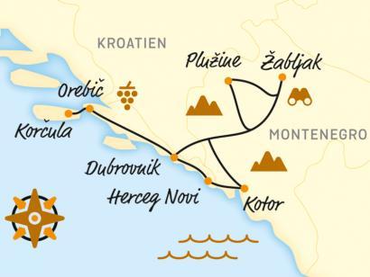 Reise in Kroatien, Bilderbuch-Buchten und bizarre Berge per E-Bike (2020)