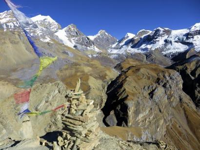 Reise in Nepal, Chulu Far East