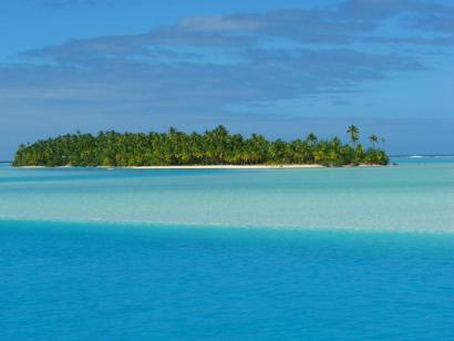 Reise in Cookinseln, One Foot Island, Aitutaki, Cook-Inseln