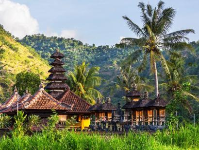 Reise in Indonesien, Den Sonnenuntergang genießen