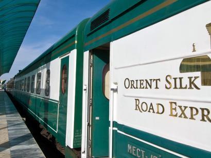 Reise in Kasachstan, Orient Silk Road Express
