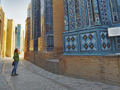Reise in Kasachstan, Usbekistan