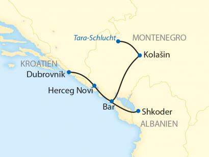 Reise in Albanien, Die Schweiz des Balkans (2020)
