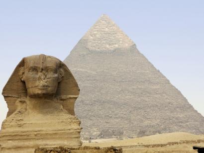 Reise in Ägypten, Kairo Pyramiden von Gizeh