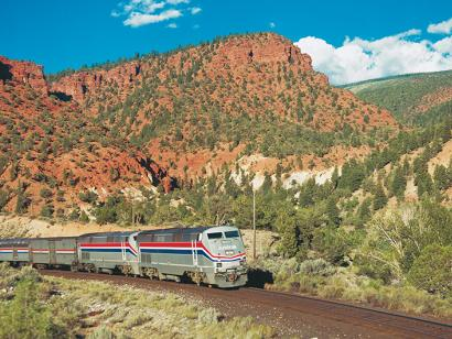 Reise in USA, California Zephyr