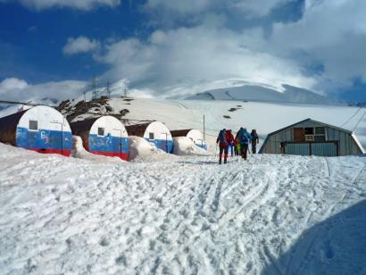 Reise in Russland, Elbrus (5642m) Skitourenreise