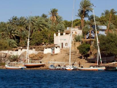 Reise in Ägypten, Kamele vor Pyramiden von Gizeh