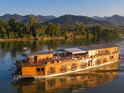 Reise in Laos, Mekong Sun