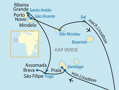 Reise in Kap Verde, Exklusiv-Charter: Vergessenes Insel-Paradies im Atlantik (2020)