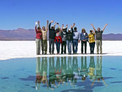 Reise in Argentinien, Bizarre Landschaft im Mondtal