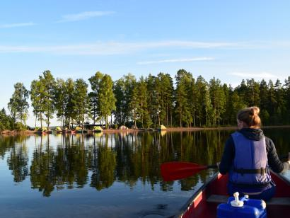 Reise in Schweden, Fast erwachsen: Kanuwoche