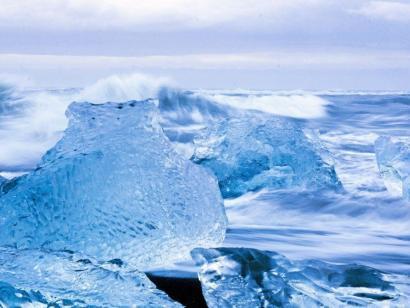 Reise in Island, Die Fotogruppe unter Nordlicht am Kap Dyrholaey