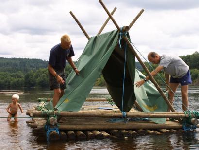 Floßfahrten auf dem Klarälven - 5 Tage