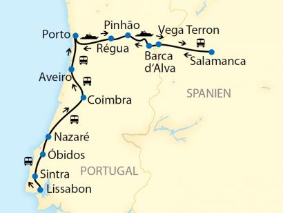 Reise in Portugal, Flusskreuzfahrt: Portugals UNESCO-Welterbe-Stätten mit Exklusiv-Charter im Douro-Tal (2020/2021)