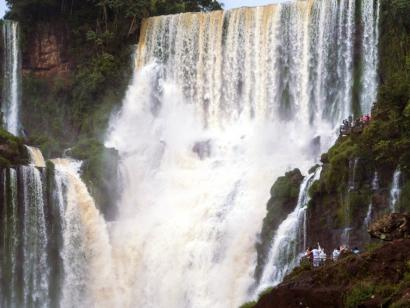 Reise in Argentinien, Salto Bossetti auf der argentinischen Seite der Iguazu-Wasserfälle