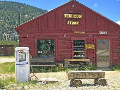 Reise in USA, Off-Road unterwegs auf dem Ophir Pass in den San Juan Mountains, Colorado