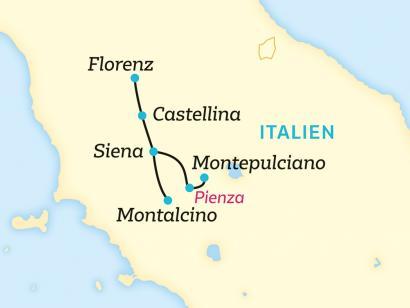 Reise in Italien, Gestatten: Toskana, typisch Toskana. (2020/2021)