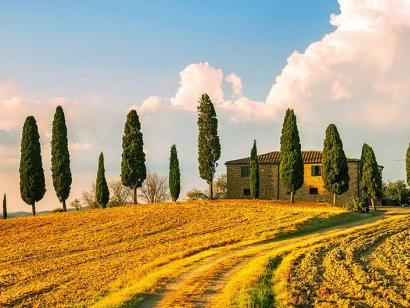Reise in Italien, Toskana