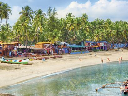 Reise in Indien, Traumstrand in Goa