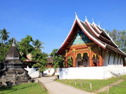 Reise in Kambodscha, Mönche in Angkor